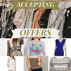 MAKE AN OFFER ON ANYTHING - BUNDLES WELCOME 💃🏻